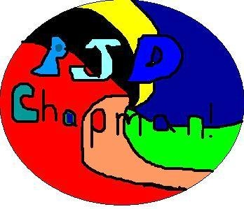 pjdchapman logo - designed by Miriam Chapman